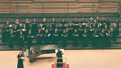 Photograph of Texas Woman's University Concert Chorale