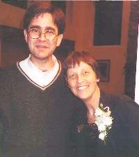 A photo of Paul Radin and Gwyneth Walker