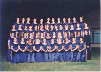 Photograph of Clovis West High School Choir
