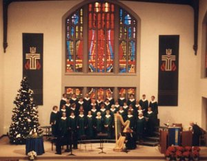 Photograph of Collegiate Presbyterian Church Choir