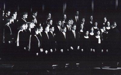 Photograph of Earlham Concert Choir