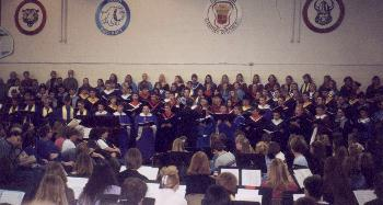 Photograph of Iowa Honors Choir