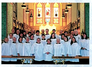 Photograph of Trinity Church Choir